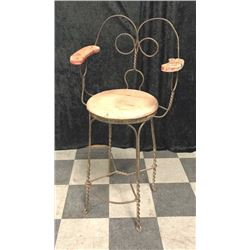 20TMO-225 WIRE FRAME PARLOR STOOL