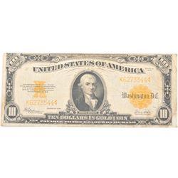 20CE-24 1922 GOLD BACK $10