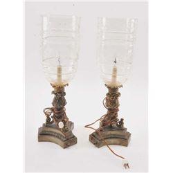 20TMO-1059 PAIR OF LAMPS