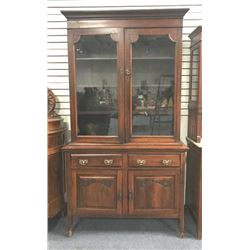 20TMO-201 GLASS FRONT CABINET