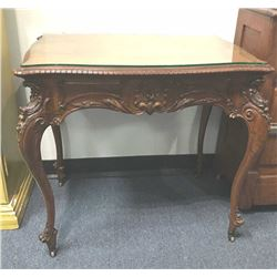 20TMO-203 CARVED FRENCH STYLE TABLE