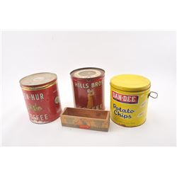 20TMO-1016 ADVERTISING TIN LOT