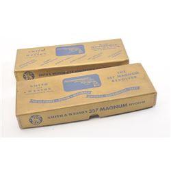 20DX-501 S&W VINTAGE GUN BOXES