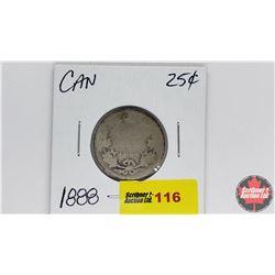 Canada Twenty Five Cent : 1888