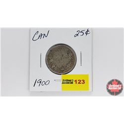 Canada Twenty Five Cent : 1900
