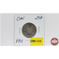 Canada Twenty Five Cent : 1901