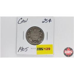 Canada Twenty Five Cent : 1905