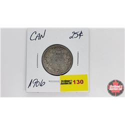 Canada Twenty Five Cent : 1906