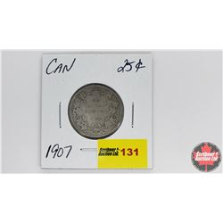 Canada Twenty Five Cent : 1907