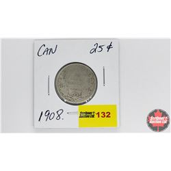 Canada Twenty Five Cent : 1908