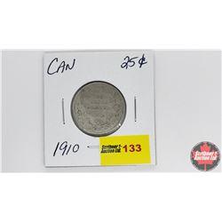 Canada Twenty Five Cent : 1910