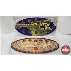 Canada Millennium Quarter Collections (2) : 1999 & 2000