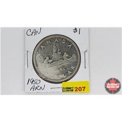 Canada Silver Dollar : 1950ARN