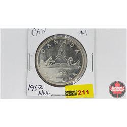 Canada Silver Dollar : 1952NWL