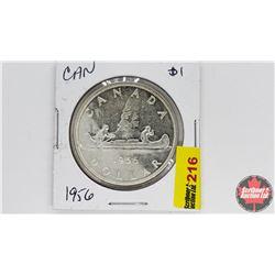 Canada Silver Dollar : 1956