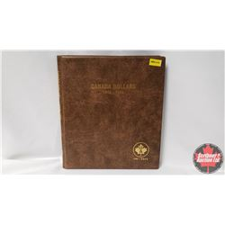 Canada One Dollar Uni-Safe Book with 22 Coins : 1968-1983; 1984 (3); 1985-1987