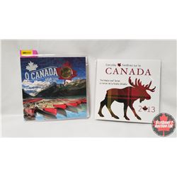 Collector Combo (2) : O Canada 150 Years & Everyday Canada The Maple Leaf Tartan