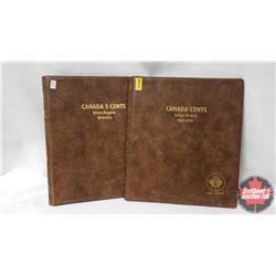 Uni-Safe Folders (2 Empty) Canada Large Cent & Canada Five Cent