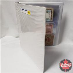 Binder Lot 15 Foreign Bills (Incl: New Zealand; Brasil; Mexico; Hong Kong; Yemen; etc)
