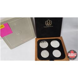 Olympic Coin Proof Set Cert #N011216 (Set of 4 in Case) $10; $10; $5; $5