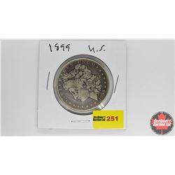 US Morgan Dollar : 1899