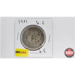 US Morgan Dollar : 1901O