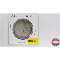 US Morgan Dollar : 1921