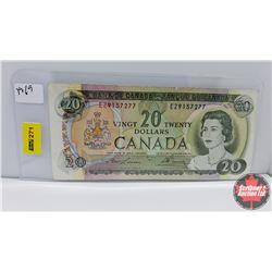 Canada $20 Bill : 1969 S/N#EZ9157277 Lawson/Bouey