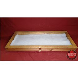 """Counter Top Display Case (37"""" x 16-1/2"""" x 3""""H)"""