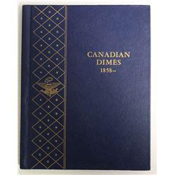 CANADA SILVER DIME PARTIAL SET