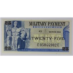 MILITARY PAYMENT CERTIFICATE
