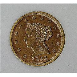 1853-D $2.50 GOLD LIBERTY!