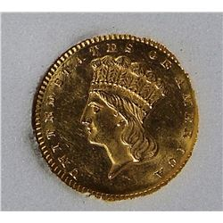 1873 GOLD DOLLAR