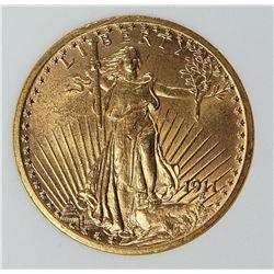 1911 $20.00 GOLD