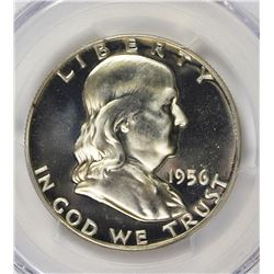 1956 FRANKLIN HALF DOLLAR TYPE 2