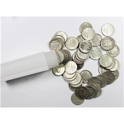 ROLL OF SILVER DIMES