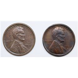 TWO LINCOLN CENTS: