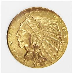 1912 $5.00 GOLD INDIAN