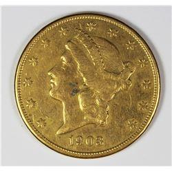 1903 $20.00 GOLD LIBERTY