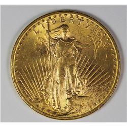 1922 $20.00 ST GAUDEN'S GOLD