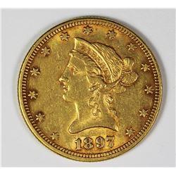 1897 $10 GOLD LIBERTY