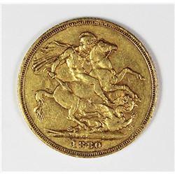1880 ENGLISH GOLD