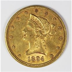1894 $10.00 LIBERTY GOLD