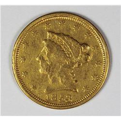 1853 $2.50 GOLD LIBERTY