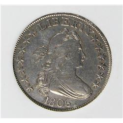 1806 BUST HALF DOLLAR