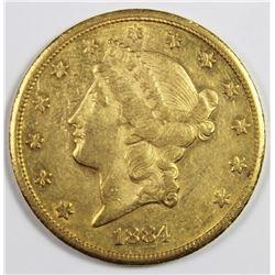 1884-CC $20.00 GOLD