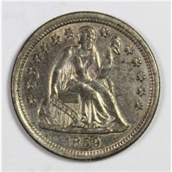 1859-O SEATED DIME