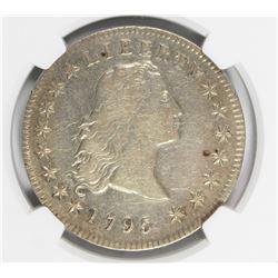 1795 FLOWING HAIR BUST DOLLAR