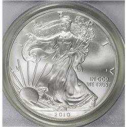 2010 AMERICAN SILVER EAGLE