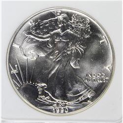 1990 AMERICAN SILVER EAGLE
